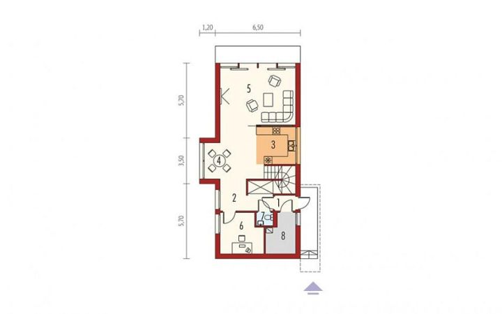proiecte de case moderne cu etaj Modern two story house plans 3