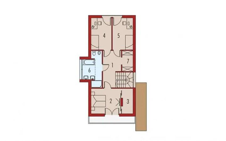proiecte de case moderne cu etaj Modern two story house plans 4
