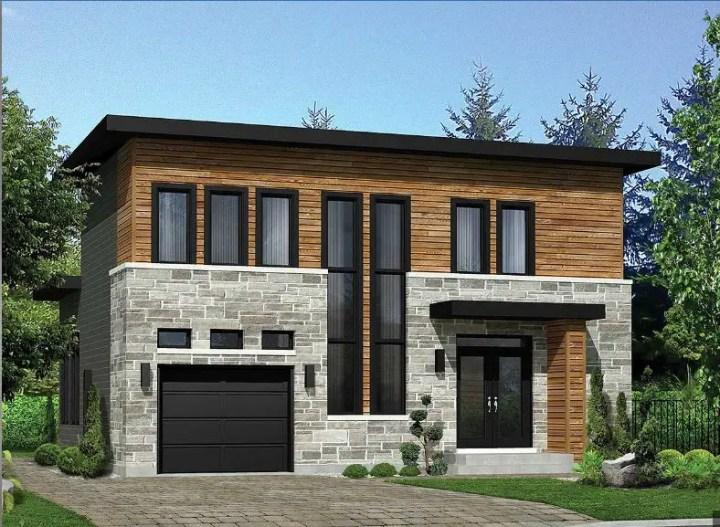 proiecte de case cubice casa 3