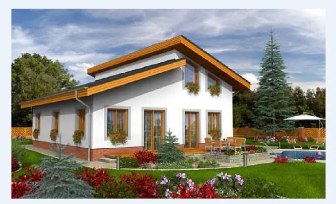 case ieftine din prefabricate vila