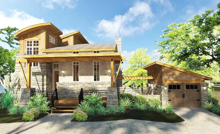 case de vis pe terenuri mici 3