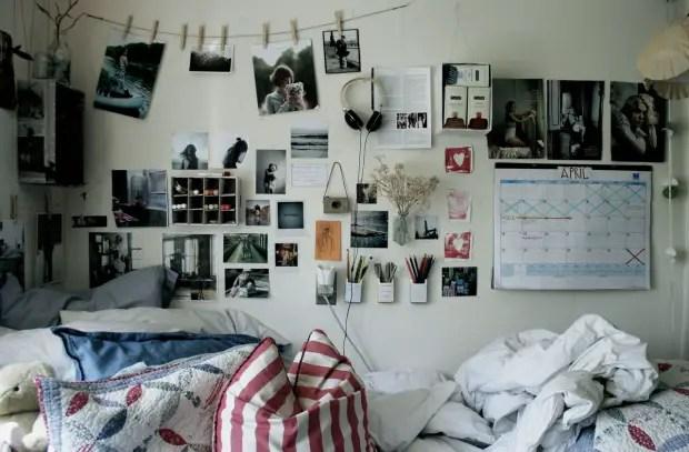 idei pentru camera de camin deasupra patului
