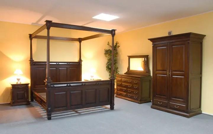 mobilier din lemn masiv pentru dormitor 3