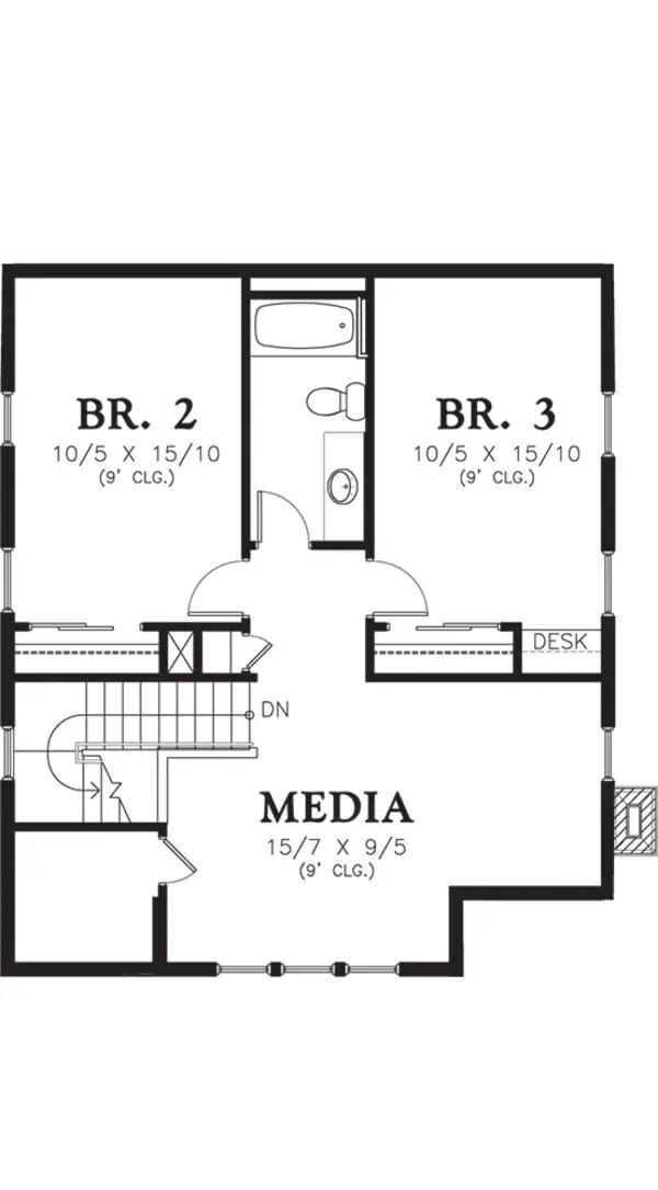 modele de case cu cerdac 1 plan mansarda