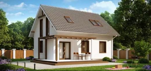 proiecte de casa cu parter si mansarda