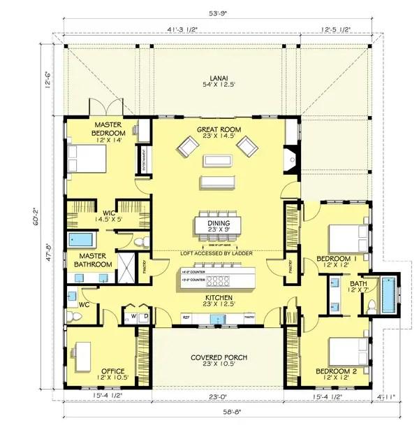 proiecte de case cu 5 camere 1 plan
