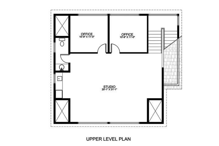 proiecte de case pe teren de 300 mp 3 plan mansarda