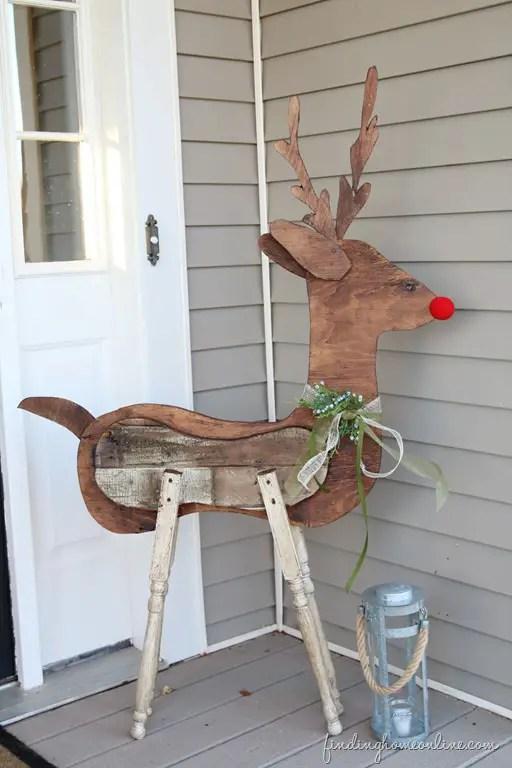 decoratiuni pentru exteriorul casei ren