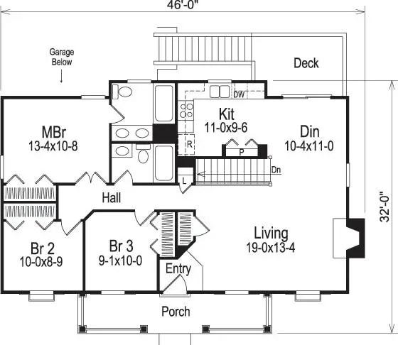 case mici cu garaj la subsol