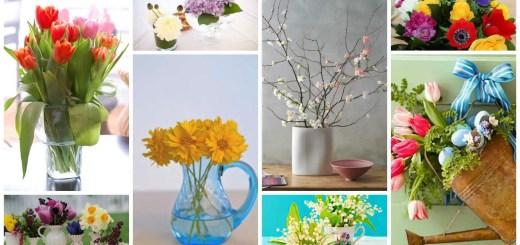 aranjamente cu flori de primavara