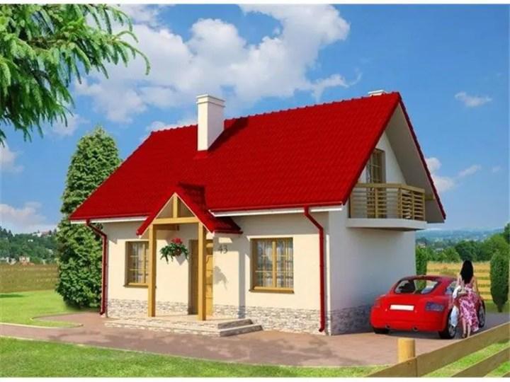 case cu mansarda pentru tineri