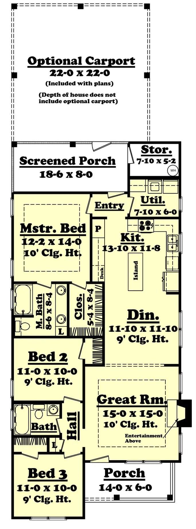 case cu camere inalte