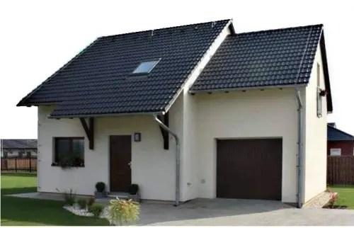 case mici pe structura de lemn