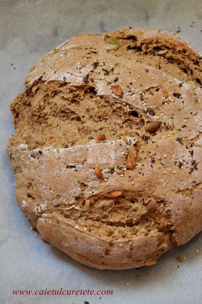 cum sa faci paine de casa