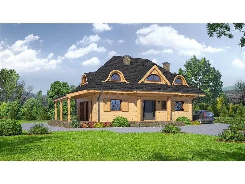 Modele de case cu acoperis in 4 ape trei locuinte mici for Modele de case