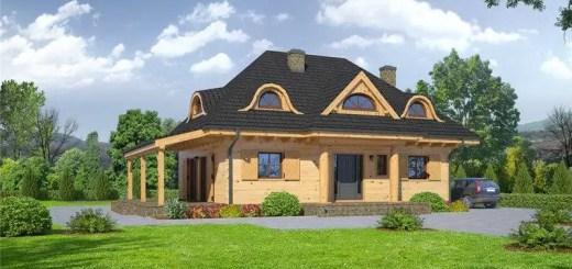 modele de case cu acoperis in 4 ape