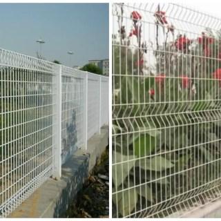 cum se face un gard din plasa cu fundatie