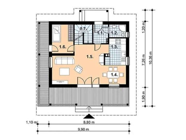 case mansardate cu 4 dormitoare