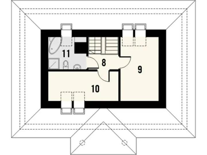 case mansardate cu acoperis in 4 ape