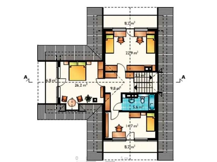 case cu balcoane la dormitoare