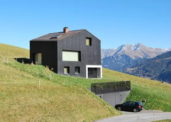 Case moderne pentru teren in panta trei locuinte unice - Dachformen architektur ...