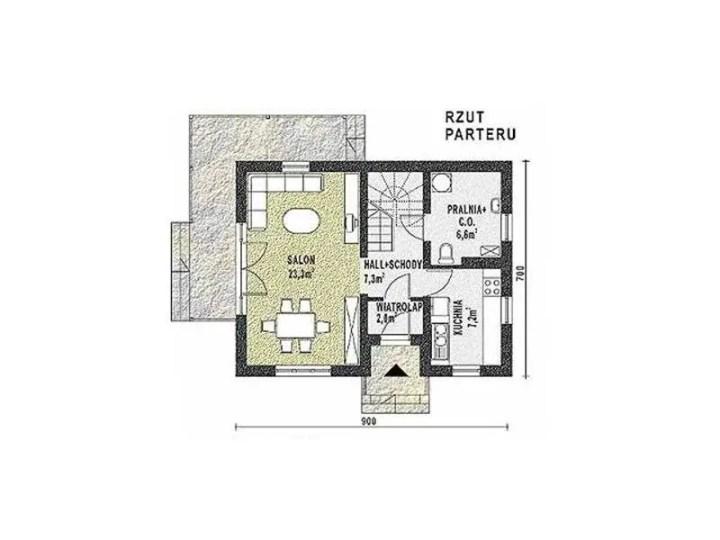 case cu 3 dormitoare la tara