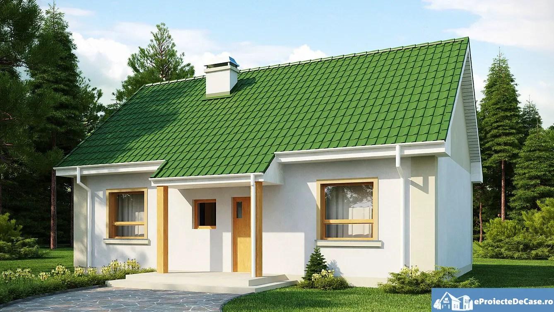 Case pana in 100 mp cu 2 dormitoare economice si confortabile for Case de 100 mp