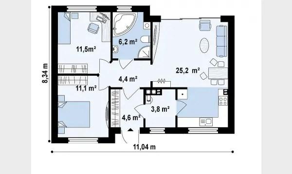 Proiecte de case sub 35.000 euro. Ideale pentru orice varsta