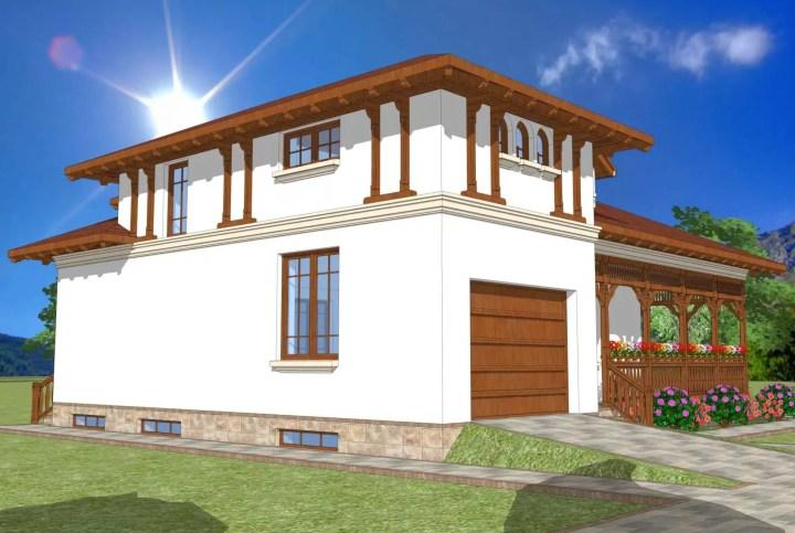 casa traditionala romaneasca 3