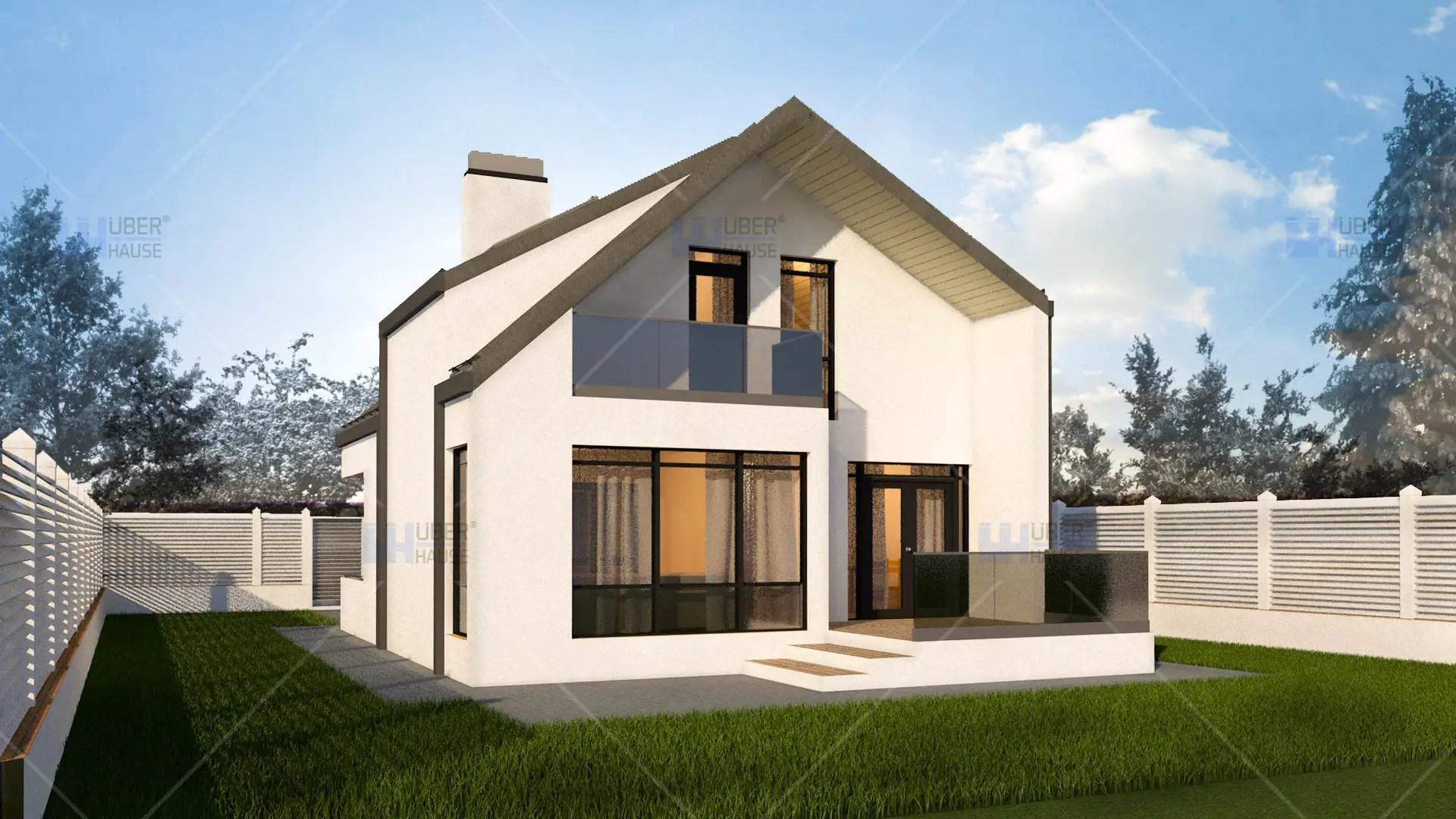 Proiecte de case sub 100 metri patrati locuinte pentru for Proiecte case cu mansarda 2017