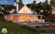 Proiecte de case cu terasa. Pentru adeptii unui stil de viata relaxat