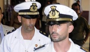 I maro' italiani Salvatore Girone e Massimiliano Latorre ANSA/MAURIZIO SALVI
