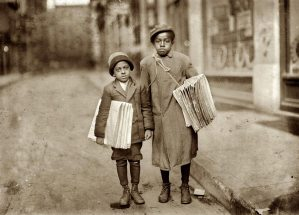 Lewis-Hine-Buster-and-Eldridge-1912