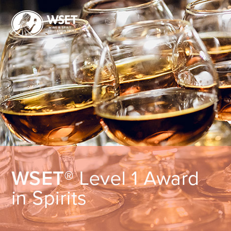 WSET L1 Spirits Book Logo New
