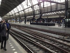 Schiphol Airport platform to Amsterdam Centraal
