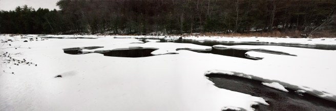 Ice on the Contoocook River