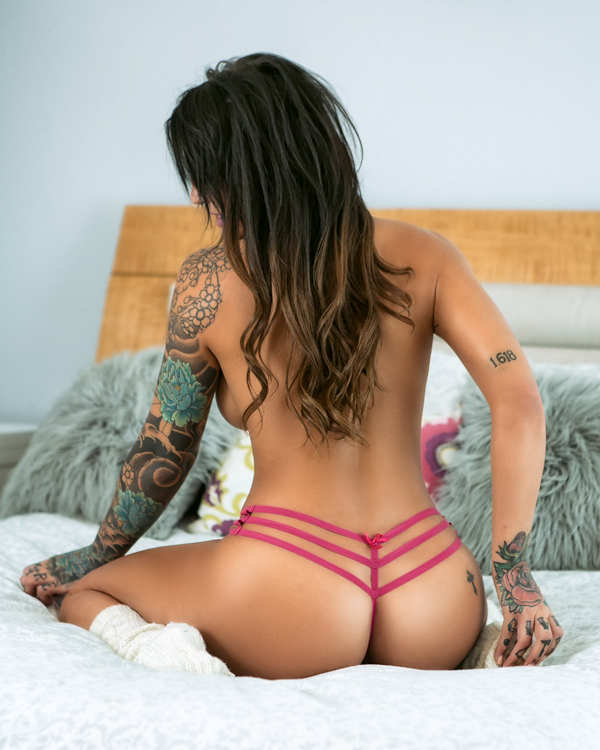 Tatto Model Ink Girl