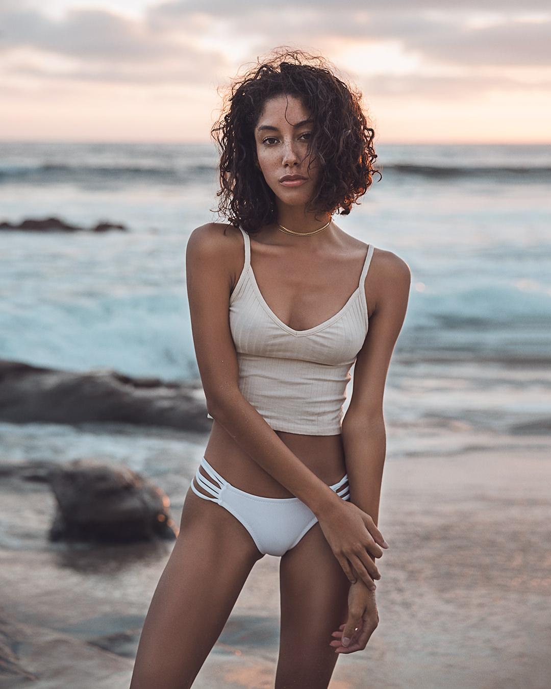 Swamis Beach Bikini Photographer