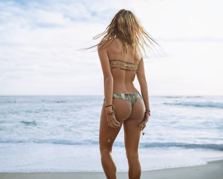 Midori bikinis La Jolla Beach