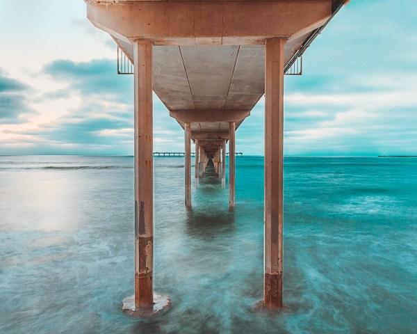 Ocean Beach Pier Print