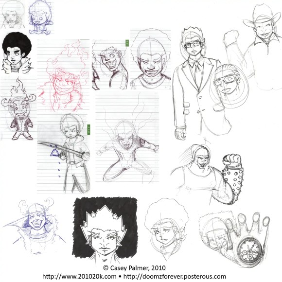 A sketch dump from March 8th, 2013
