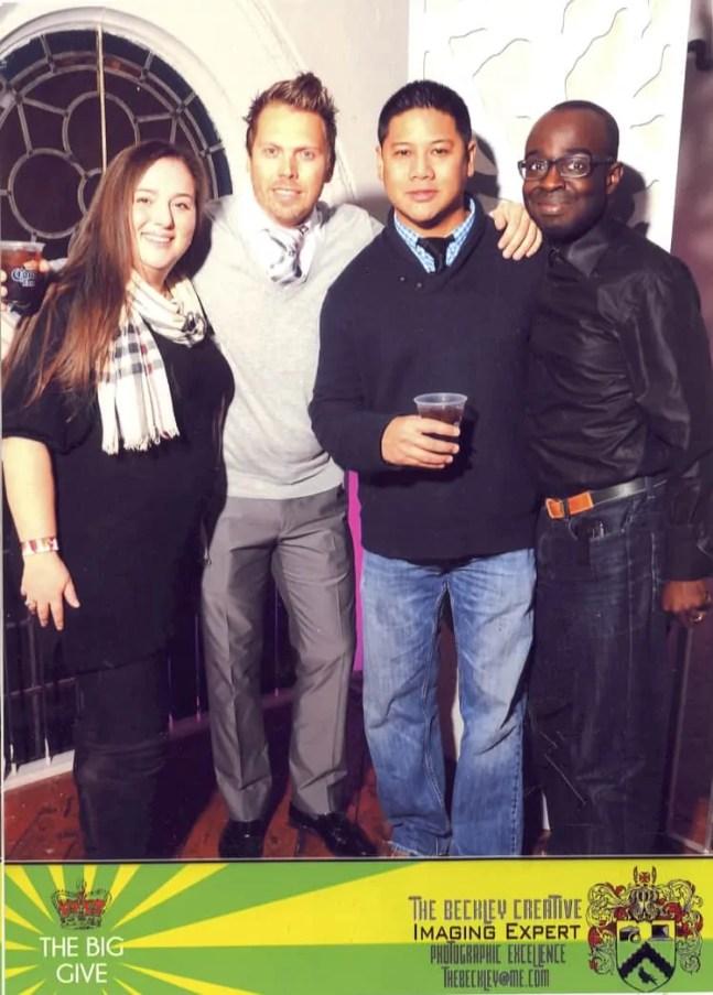 L-R: @wedding_crasher, @clickryan, @clickflickca and myself
