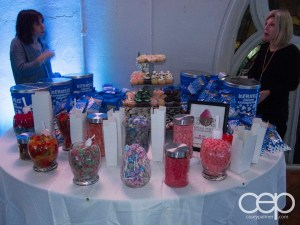 The candy bar at The Big Give