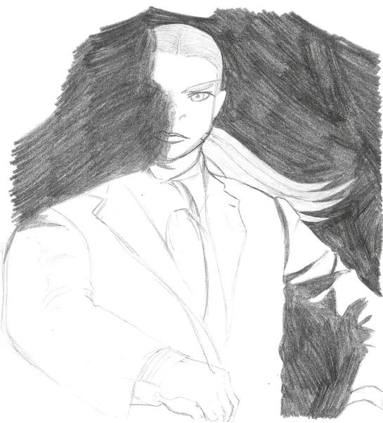 Franz von Chimpenheiser Sketch