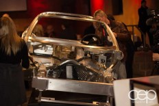 The interior frame used to build a Corvette