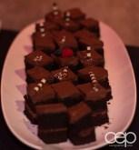 Dark Chocolate Fudge Cake