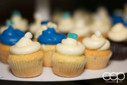 Cupcakes at the 2013 Ford Blue Party