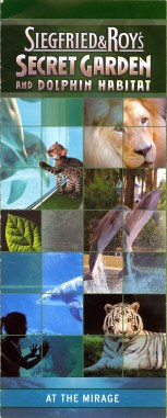 Siegfried & Roy's Secret Garden and Dolphin Habitat — Brochure
