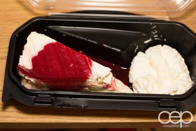 Lemon Raspberry Creme Cheesecake from The Cheesecake Factory