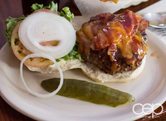 A Grover's Cattleman Burger